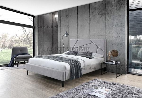 Кровать SWEET VALERY 160*200 ткань Stone 1A (фото, вид 2)