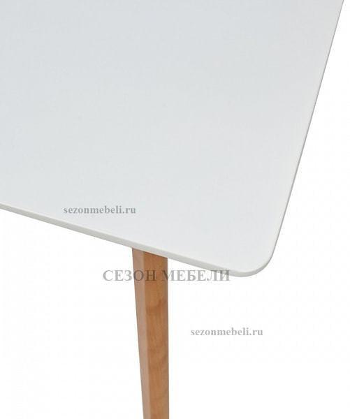 Стол ABELE 120 белый/массив бука (фото, вид 2)