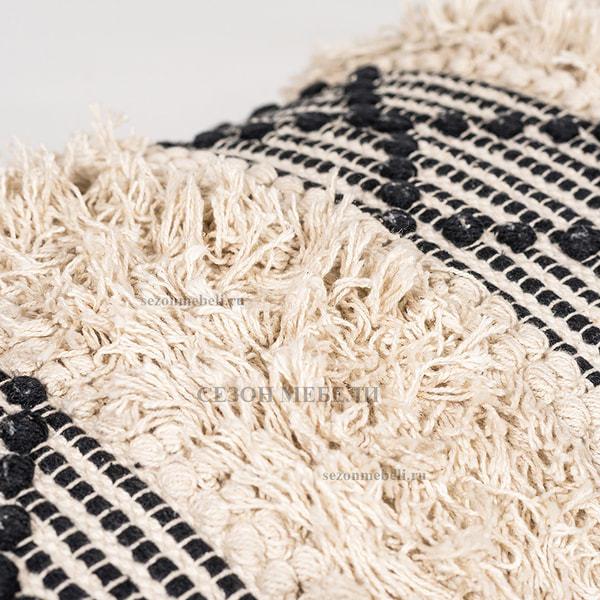Банкетка Aprica (black/white shaggy) (фото, вид 5)