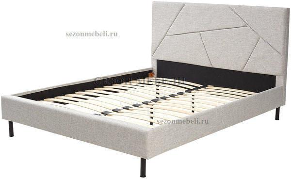 Кровать SWEET VALERY 160*200 ткань Stone 1A (фото, вид 1)
