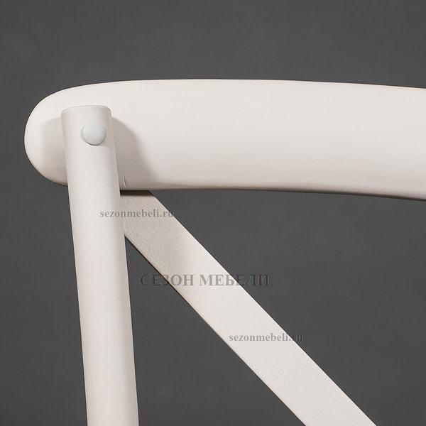 Стул с подлокотниками Cross Armсhair (Кросс Армчер) Butter white (фото, вид 7)
