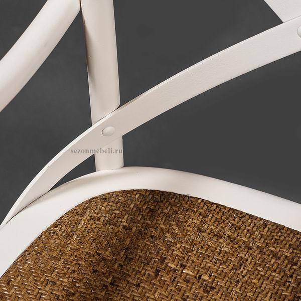 Стул с подлокотниками Cross Armсhair (Кросс Армчер) Butter white (фото, вид 8)