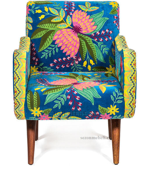 Кресло Sondrio (blue/green) (фото, вид 1)