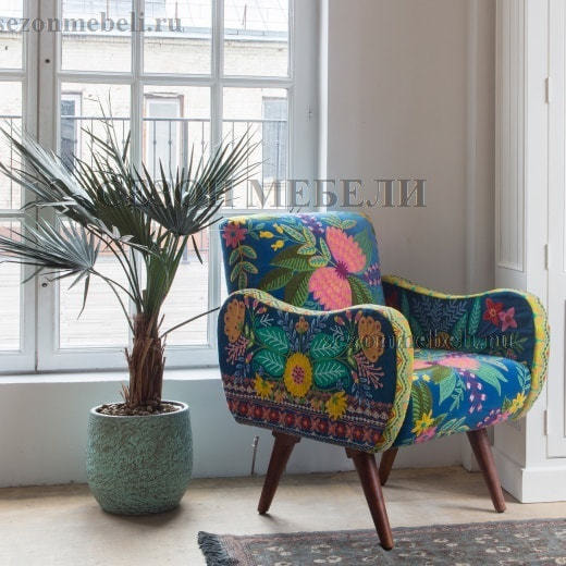 Кресло Sondrio (blue/green) (фото, вид 7)