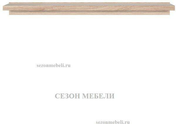 Полка Каспиан POL/100 дуб сонома (фото, вид 1)