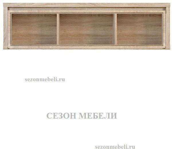 Шкаф навесной Каспиан SFW1W/140 дуб сонома (фото, вид 1)
