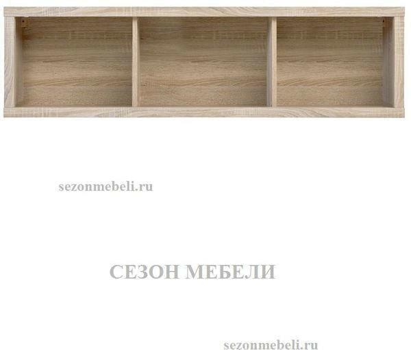 Шкаф навесной Каспиан SFW/140 дуб сонома (фото, вид 1)