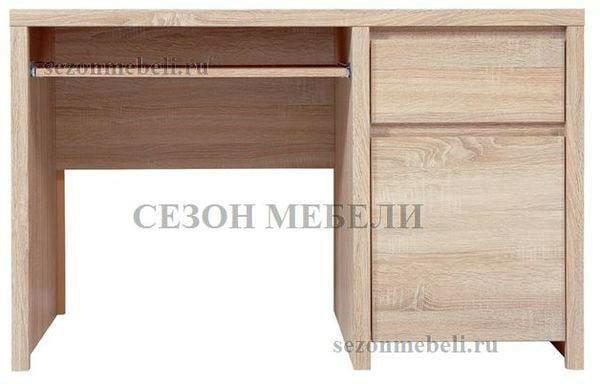 Стол письменный Каспиан BIU1D1S дуб сонома (фото, вид 1)