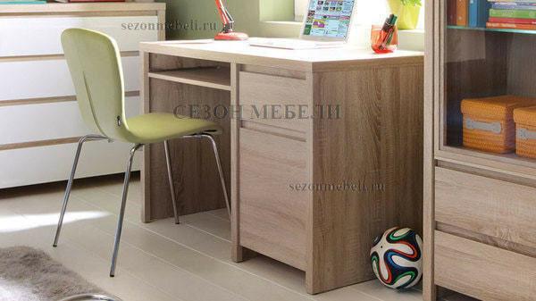 Стол письменный Каспиан BIU1D1S дуб сонома (фото, вид 2)