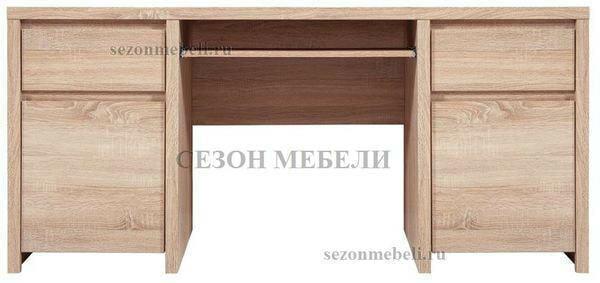 Стол письменный Каспиан BIU2D2S дуб сонома (фото, вид 1)
