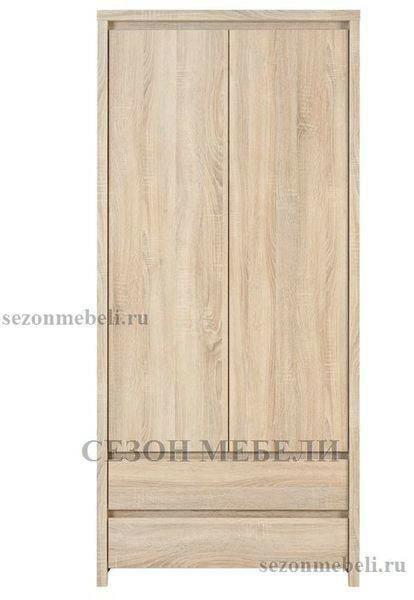 Шкаф Каспиан SZF2D2S дуб сонома (фото, вид 1)