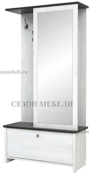 Шкаф с вешалкой Порто PPK/95 (фото, вид 2)