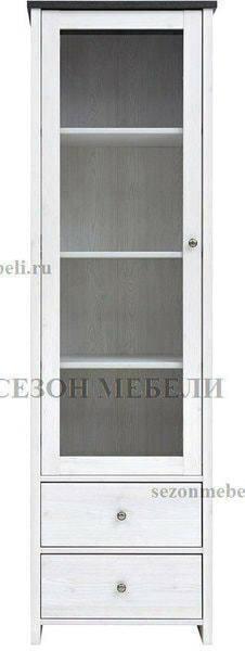 Шкаф витрина Порто REG1W2S (фото, вид 1)