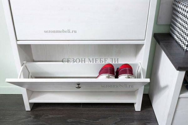 Тумба для обуви Порто SFB2B (фото, вид 2)