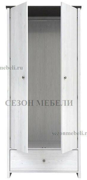 Шкаф платяной Порто SZF2D1S (фото, вид 1)
