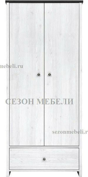 Шкаф платяной Порто SZF2D1S (фото, вид 2)