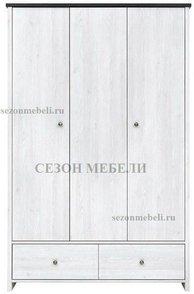 Шкаф платяной Порто SZF3D2S (фото, вид 1)