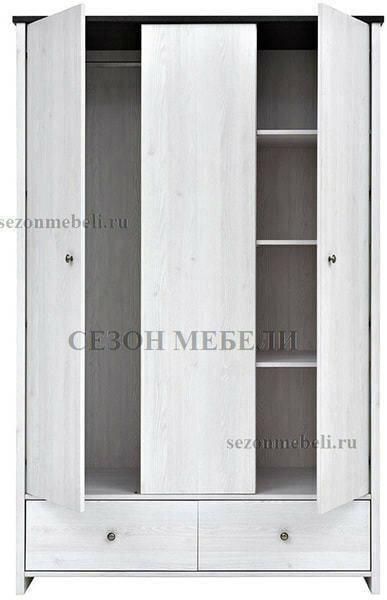 Шкаф платяной Порто SZF3D2S (фото, вид 2)