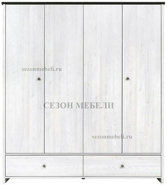 Шкаф платяной Порто SZF4D2S (фото, вид 1)