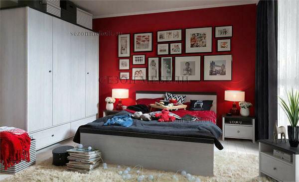Шкаф платяной Порто SZF4D2S (фото, вид 3)
