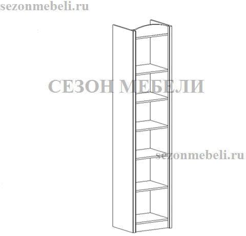 Шкаф Салерно REG2D L/P (фото, вид 1)