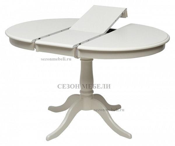 Стол TS Siena (SA-T4EX(AV)) Ivory white (фото, вид 1)