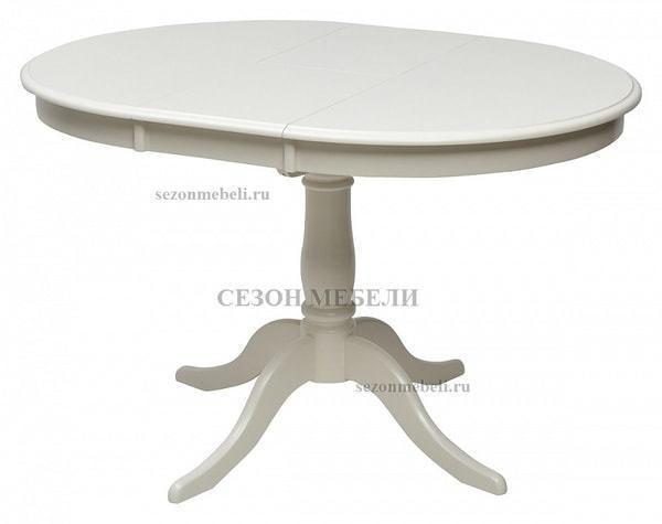 Стол TS Siena (SA-T4EX(AV)) Ivory white (фото, вид 2)