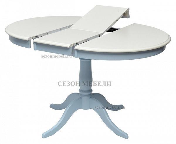 Стол TS Siena (SA-T4EX) Ivory white/ Blue (фото, вид 1)