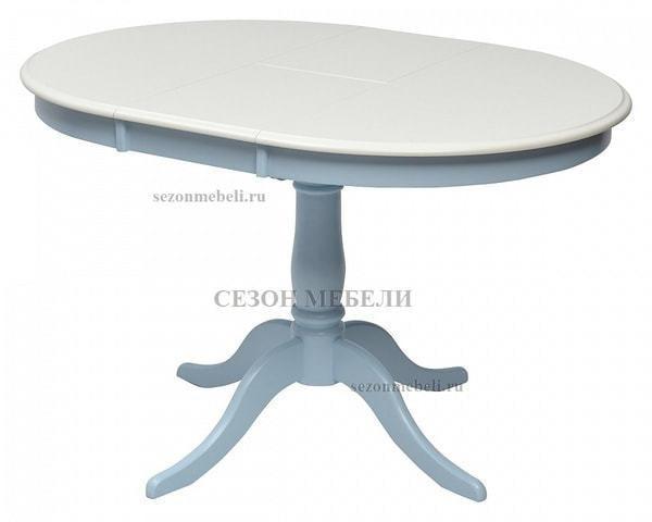 Стол TS Siena (SA-T4EX) Ivory white/ Blue (фото, вид 2)