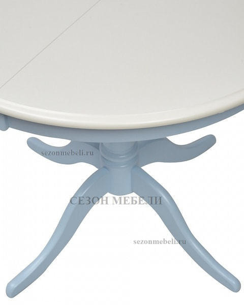 Стол TS Siena (SA-T4EX) Ivory white/ Blue (фото, вид 3)