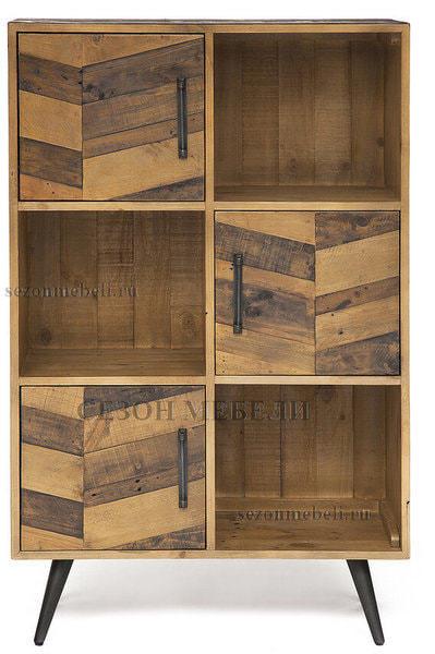 Шкаф книжный Largo (mod. LAR L04В) (фото, вид 2)