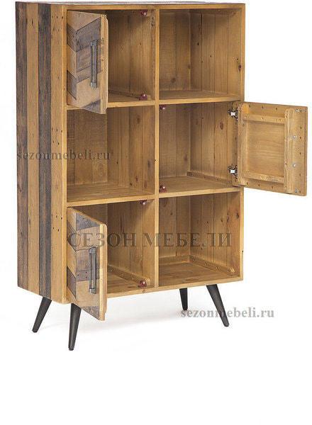 Шкаф книжный Largo (mod. LAR L04В) (фото, вид 1)