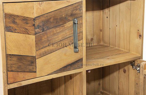 Шкаф книжный Largo (mod. LAR L04В) (фото, вид 8)