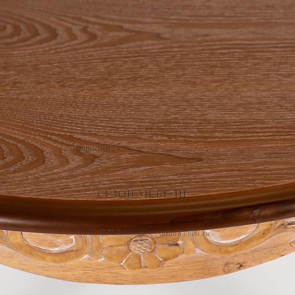 Стол Esmee (EE-T6EX) Antique pine (фото, вид 9)