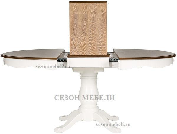 Стол Parisa (PA-T6EX) Ivory white+Antique pine (фото, вид 4)