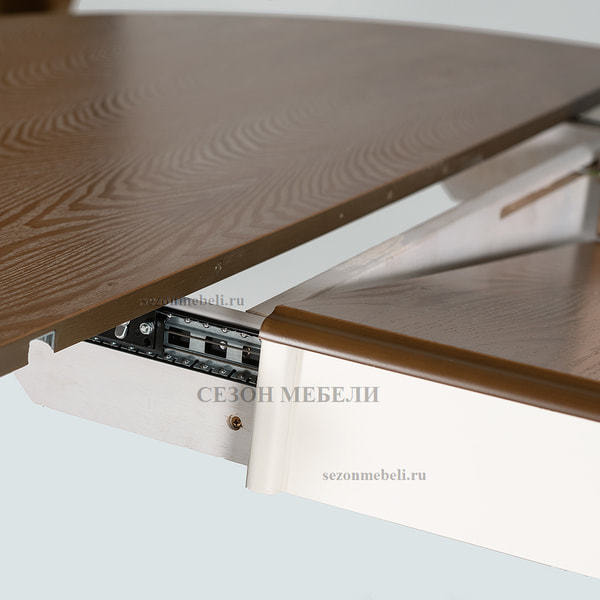 Стол Parisa (PA-T6EX) Ivory white+Antique pine (фото, вид 6)