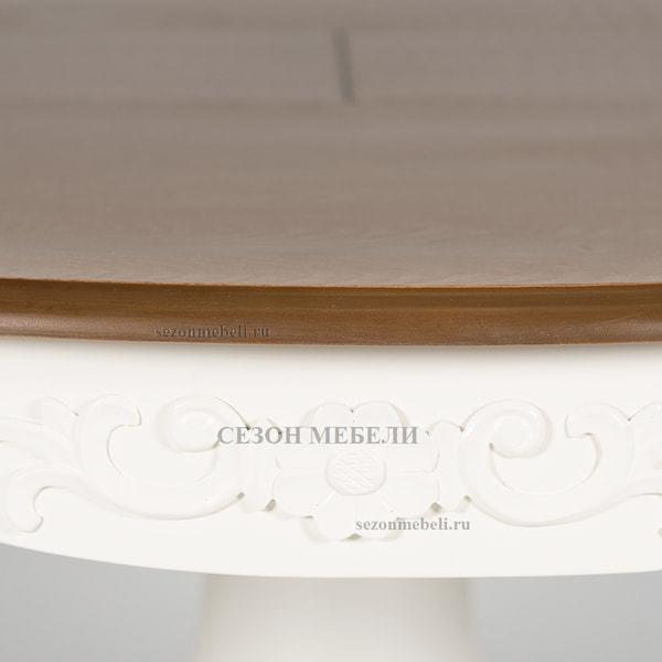 Стол Parisa (PA-T6EX) Ivory white+Antique pine (фото, вид 8)