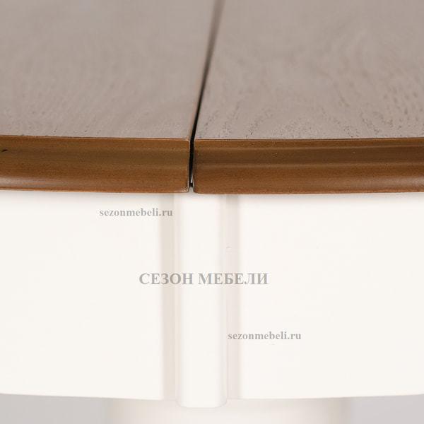Стол Parisa (PA-T6EX) Ivory white+Antique pine (фото, вид 9)