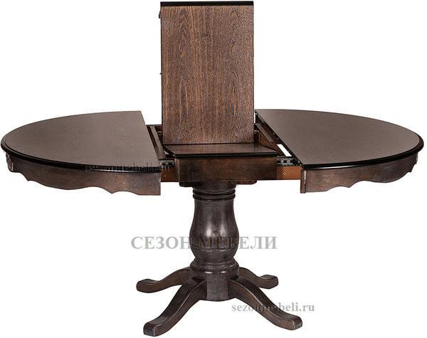 Стол Parisa (PA-T6EX) Antique walnut (фото, вид 2)