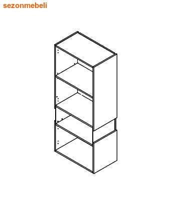Шкаф настенный Ньюарк SFW1W/14/6 I L (левый) (фото, вид 1)