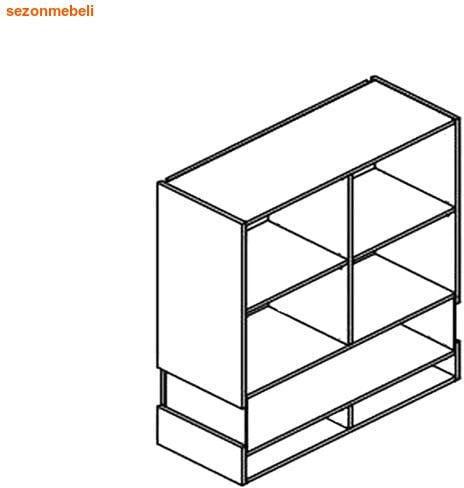Шкаф настенный Ньюарк SFW2W/11/9 (фото, вид 1)