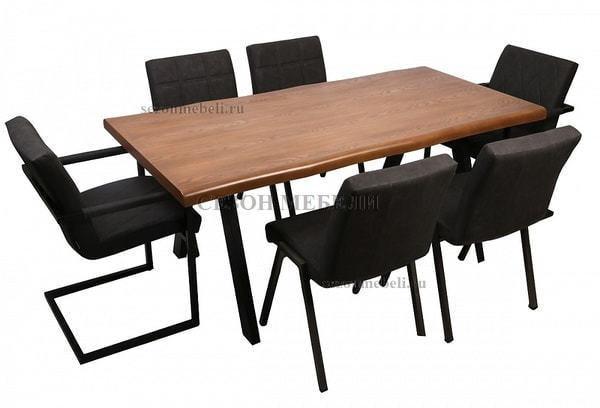Стол CECIL 180 шпон (фото, вид 3)