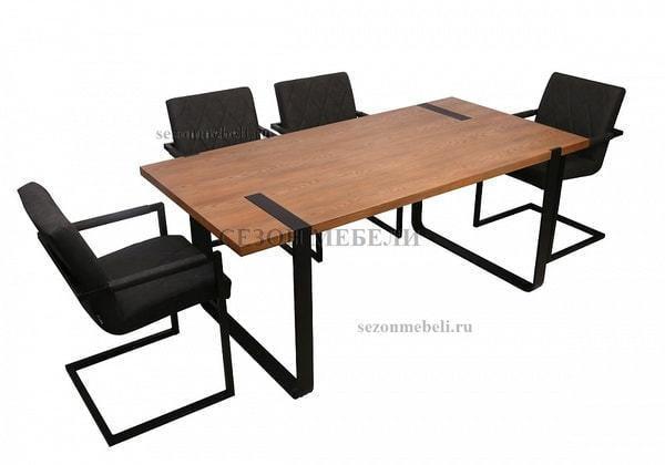 Стол ELEANOR 180 шпон (фото, вид 2)