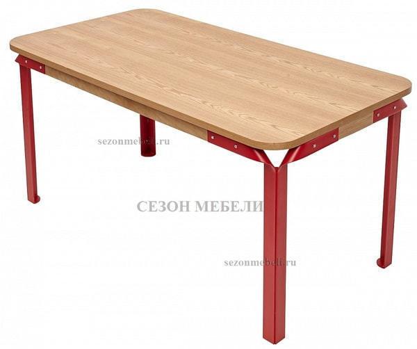 Стол APSARAS красный (фото, вид 1)