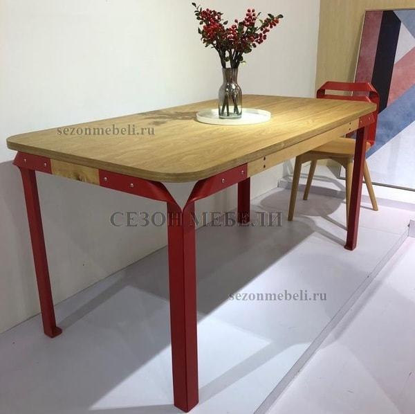 Стол APSARAS красный (фото, вид 3)