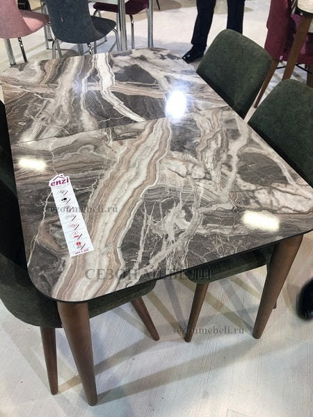 Стол LINK 122 см GRANITE (фото, вид 6)