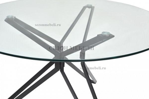 Стол VENETO D110 прозрачный (фото, вид 1)