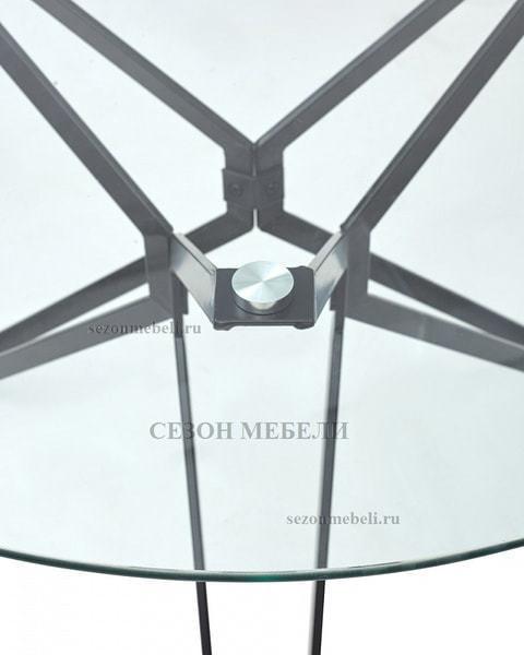 Стол VENETO D110 прозрачный (фото, вид 2)