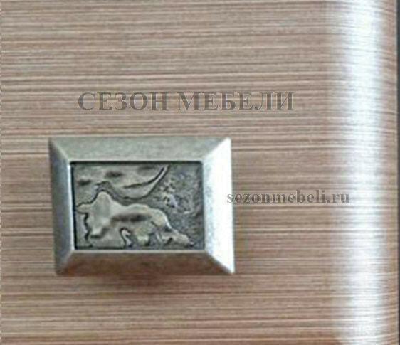 Шкаф Коен REG2W2S венге магия/ штрокс темный (фото, вид 2)