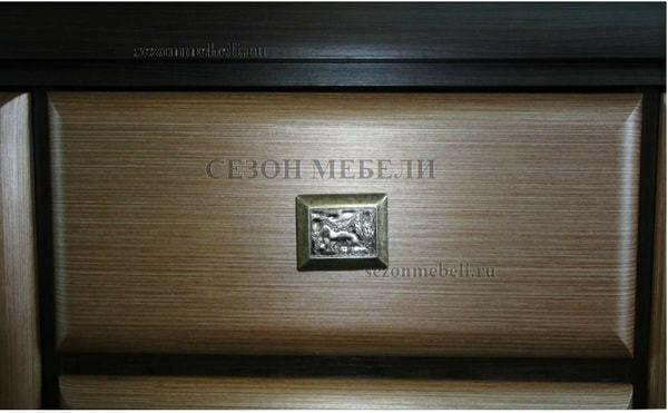 Тумба прикроватная Коен KOM1S венге магия/ штрокс темный (фото, вид 2)